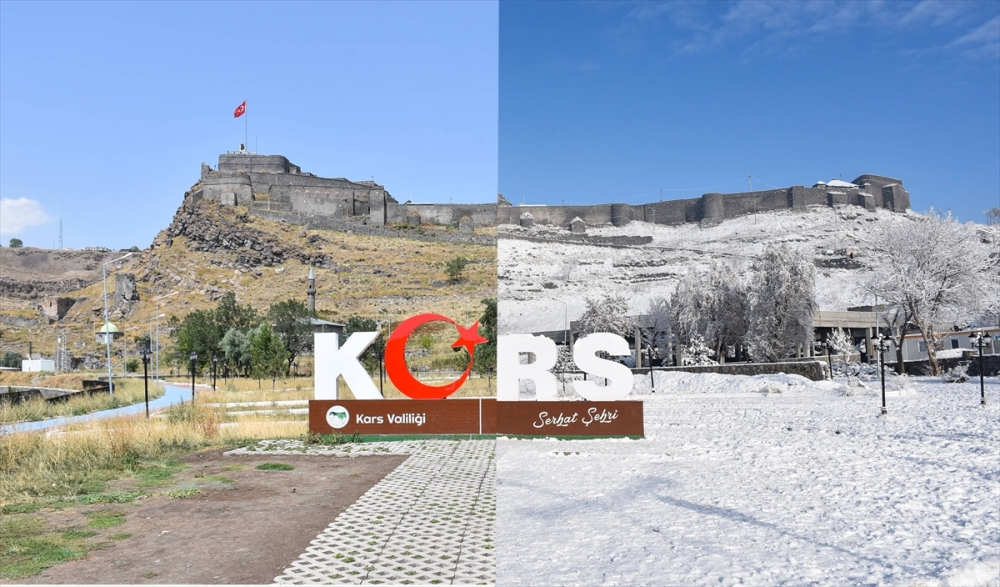 Kars'ta Yaz Kış Manzaraları 1