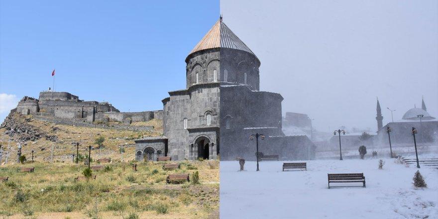 Kars'ta Yaz Kış Manzaraları
