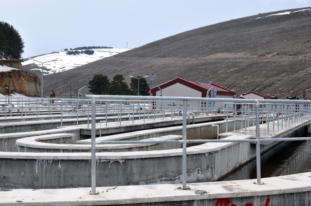 Bakan Arslan, Sarıkamış'ta Atık Su Arıtma Tesisleri'nin açılışını yaptı  2