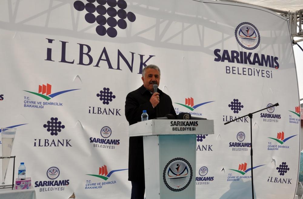 Bakan Arslan, Sarıkamış'ta Atık Su Arıtma Tesisleri'nin açılışını yaptı  3