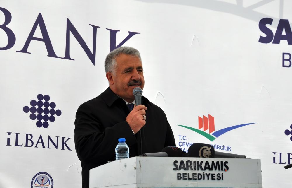 Bakan Arslan, Sarıkamış'ta Atık Su Arıtma Tesisleri'nin açılışını yaptı  4