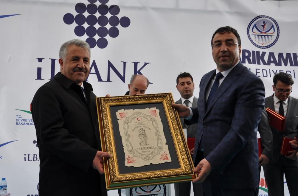 Bakan Arslan, Sarıkamış'ta Atık Su Arıtma Tesisleri'nin açılışını yaptı  5