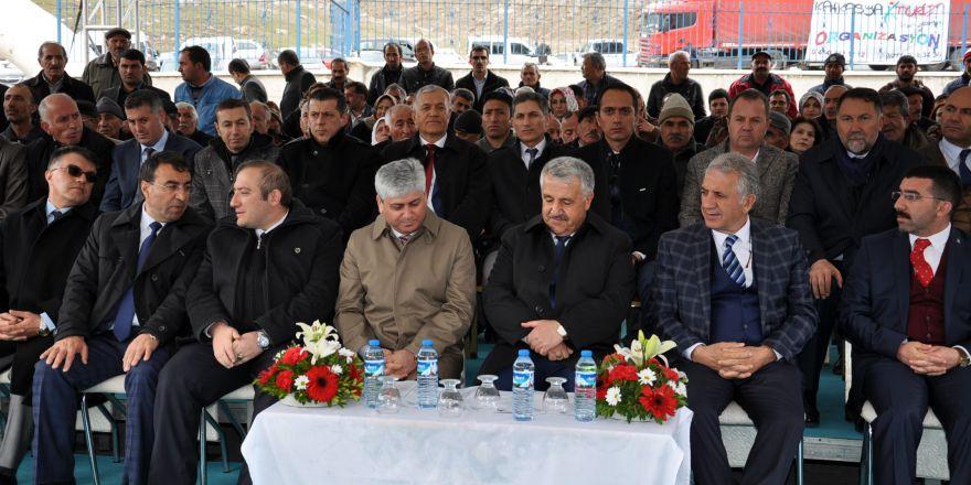 Bakan Arslan, Sarıkamış'ta Atık Su Arıtma Tesisleri'nin açılışını yaptı