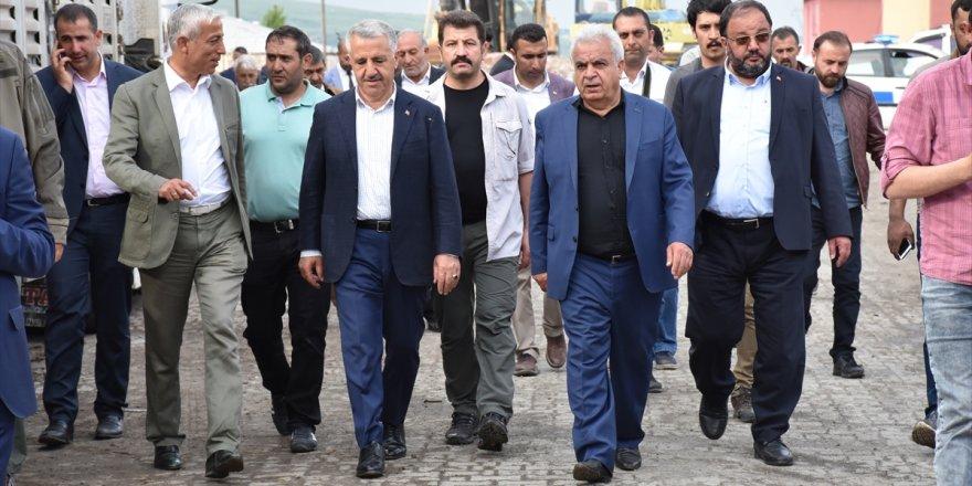 Bakan Ahmet Arslan'ın Esnaf Ziyaretleri Devam ediyor