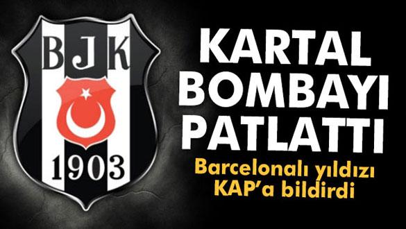 Beşiktaş Barcelonalı yıldızı açıkladı