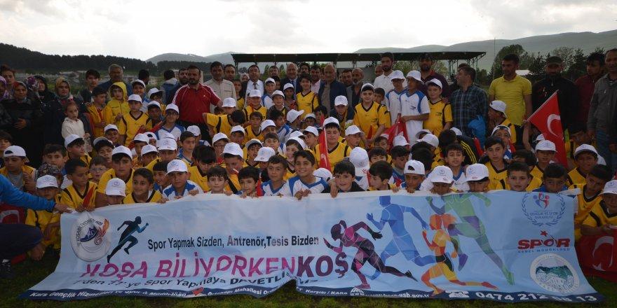 Kars'ta yaz spor okulları açılışı yapıldı