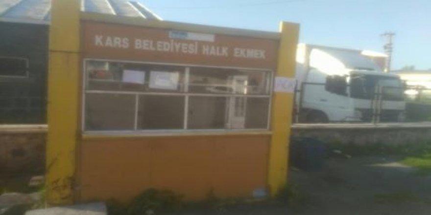 Kars'ta Belediye Halk Ekmek Satışları Başladı