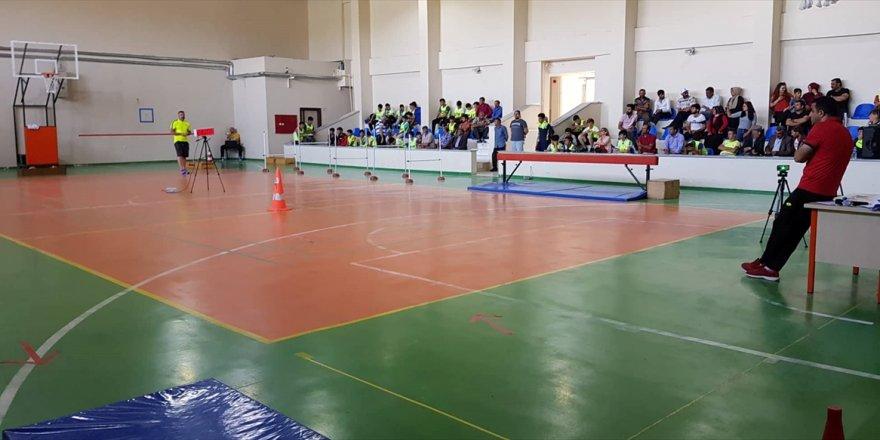 Kars'ta Spor lisesi sınavları başladı