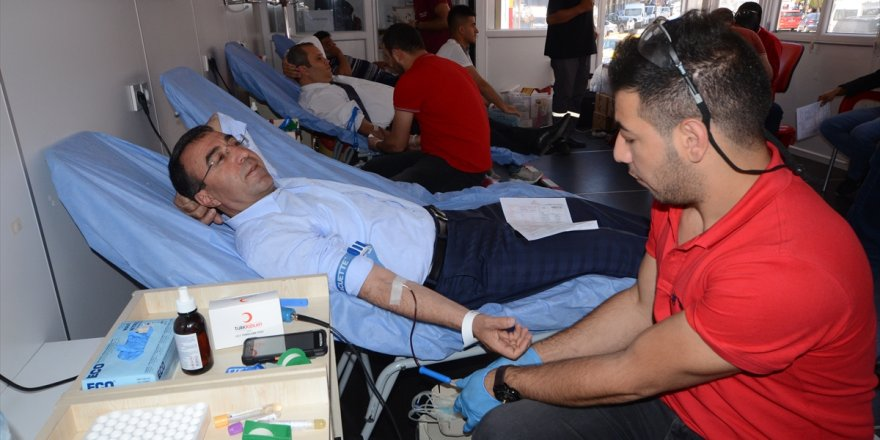 Sarıkamış'ta Kan Bağışı Kampanyası Düzenlendi