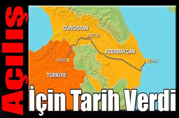 Cumhurbaşkanı Recep Tayyip Erdoğan, Bakü-Tiflis-Kars demiryolunun Aralık ayında açılışının gerçekleşeceğini bildirdi.