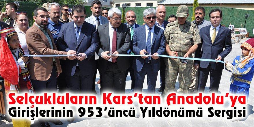 Selçukluların Kars'tan Anadolu'ya girişlerinin 953'üncü yıldönümü Sergisi