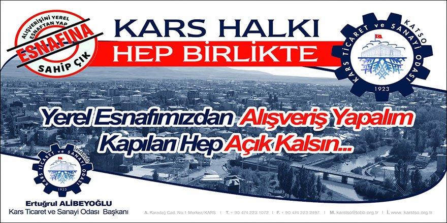 Alibeyoğlu, yerel esnaftan alışveriş çağrısı yaptı