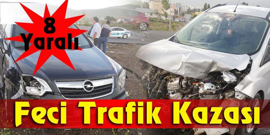 Feci Trafik Kazası 8 Yaralı