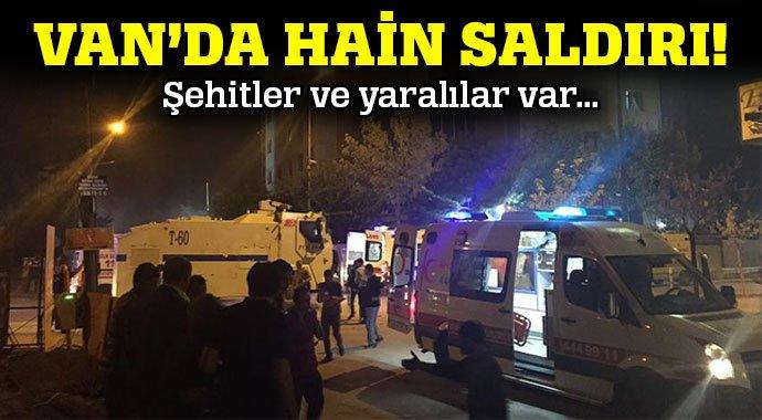 Van´da terör saldırısı: 3 ölü, 40 yaralı