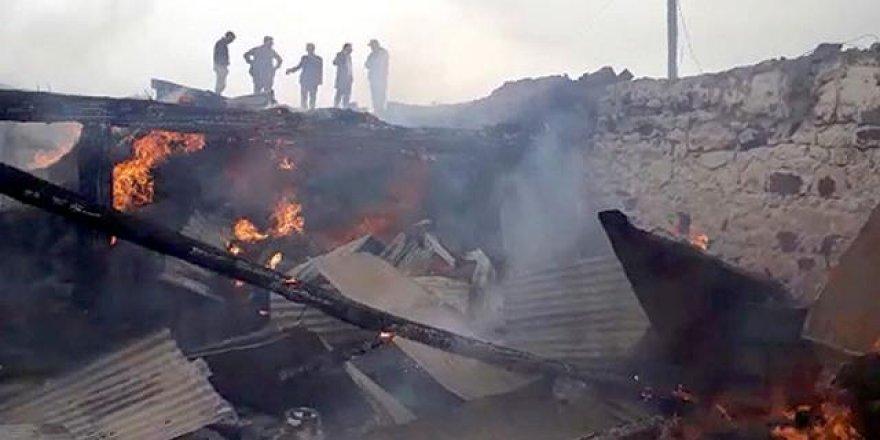Ardahan'da ev yangını