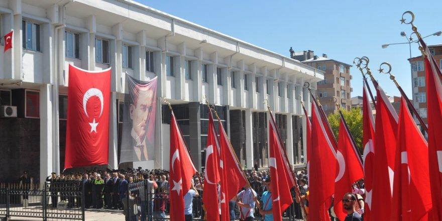 Kars'ta Gaziler Günü törenle kutlandı