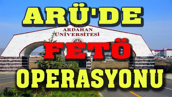 ARÜ'de FETÖ Operasyonu: 8 Tutuklama
