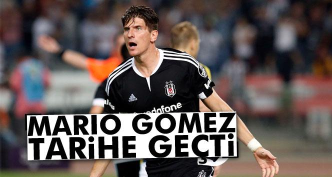 Mario Gomez tarihe geçti