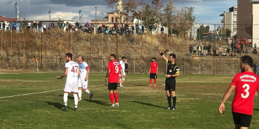 Sarıkamış Gençlerbirliği Spor:2 Serhat Ardahan Spor:1