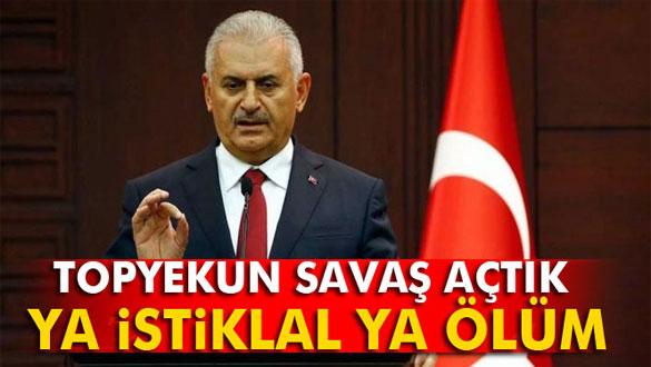 Başbakan Yıldırım'dan Cizre açıklaması