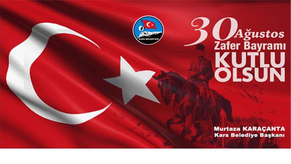 Başkan Karaçanta'dan 30 Ağustos Mesajı
