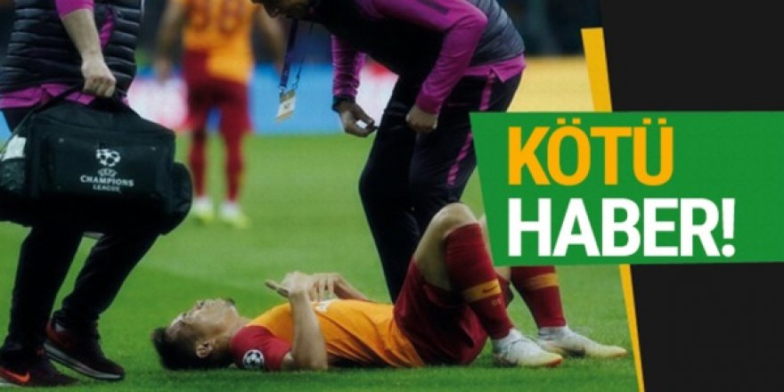 Galatasaray'da sakatlıklar can sıkıyor!