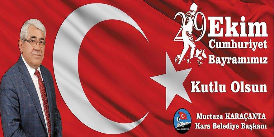 Başkan Murtaza Karaçanta'nın 29 Ekim Cumhuriyet Bayramı Mesajı