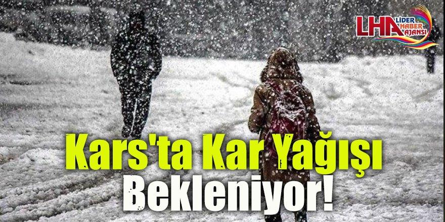 Kars'ta kar Yağışı Bekleniyor!