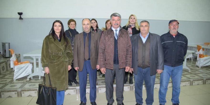 Kağızman Belediye Başkanı Yıldız, İşçilerle Buluştu