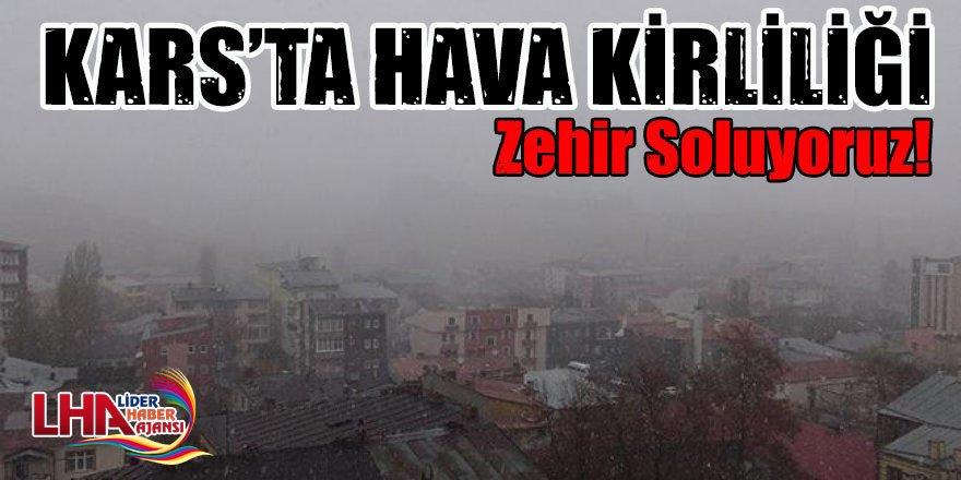 Kars'ta hava kirliliği