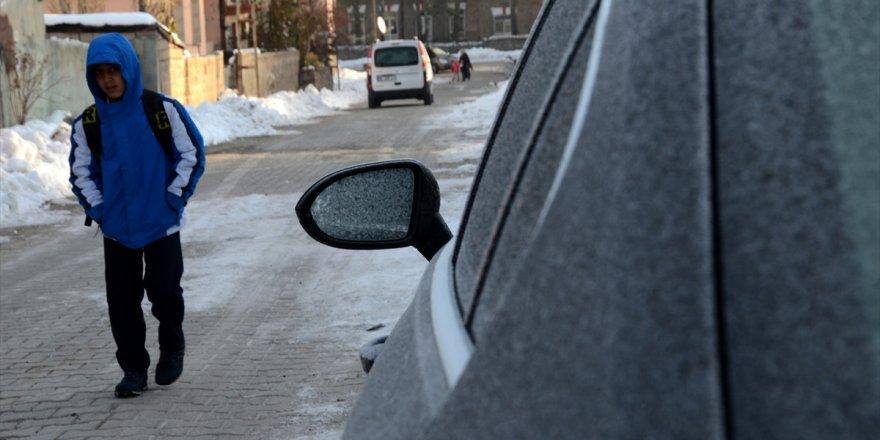 Doğu Anadolu Bölgesi'nde soğuk hava etkili oluyor