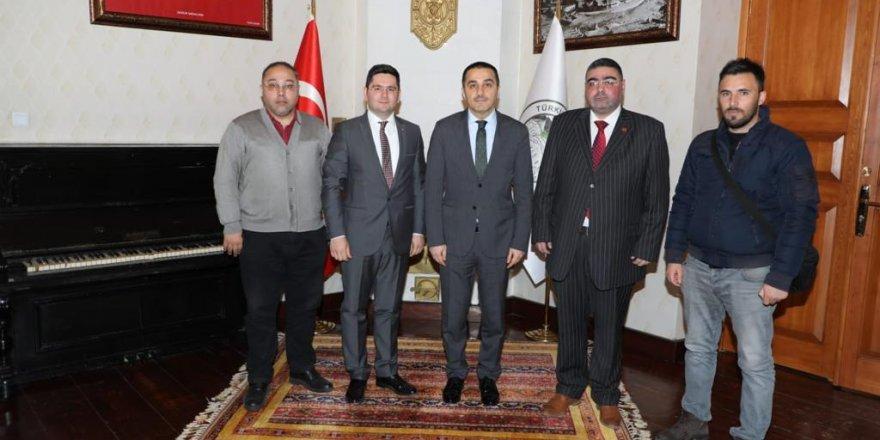 Gazeteciler Cemiyetinden Kars Valisi Türker Öksüz'e Ziyaret