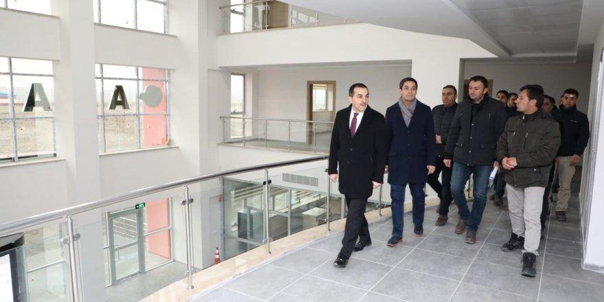 Vali Türker Öksüz, Tek Tek Dolaştı Çalışmaları Yerinde İnceledi