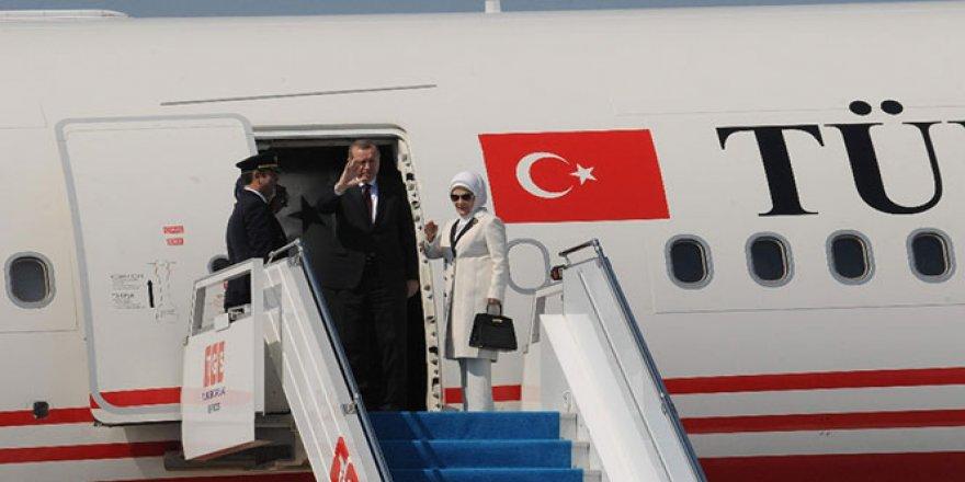 Cumhurbaşkanı Erdoğan Güney Amerika yolcusu