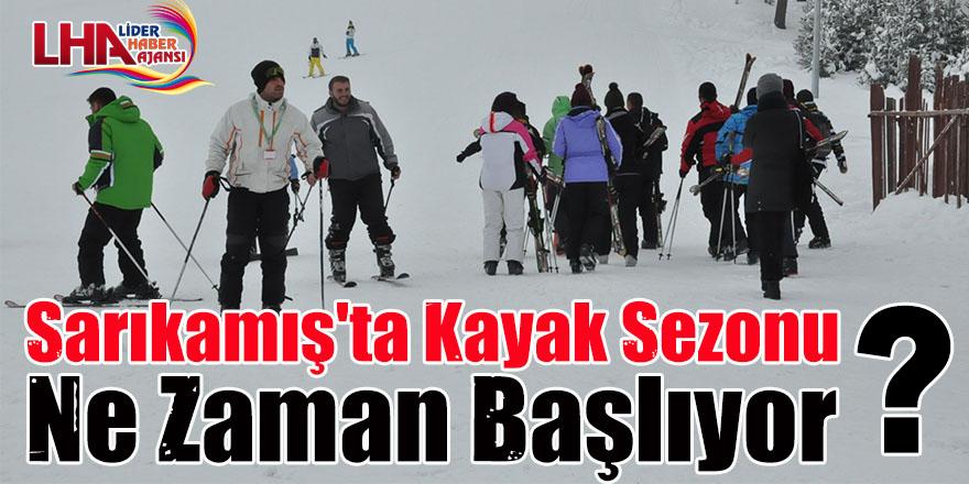 Sarıkamış'ta Kayak Sezonu Ne Zaman Başlıyor?