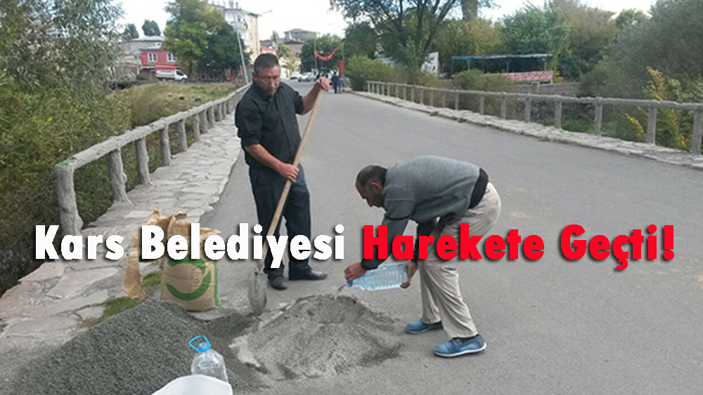 Kars Belediyesi Harekete Geçti!