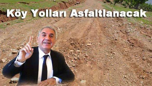 Kars'ta tüm köy yolları asfaltlanacak!
