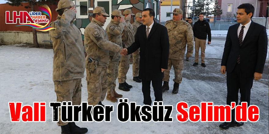 Vali Türker Öksüz, Selim'de