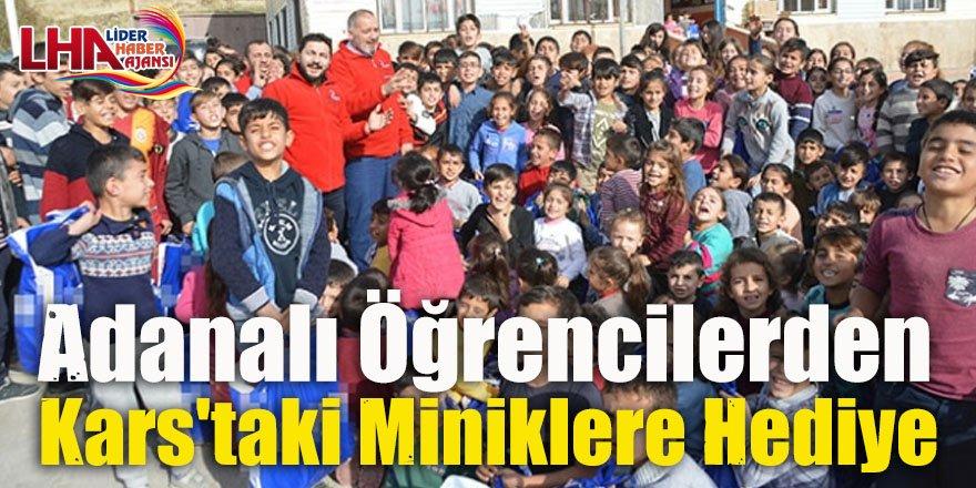 Adanalı öğrencilerden Kars'taki miniklere hediye