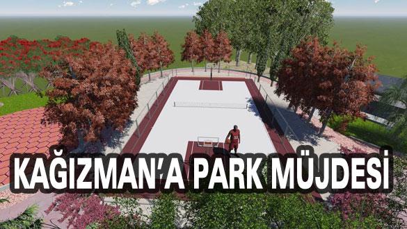 Kağızman'a Park Müjdesi