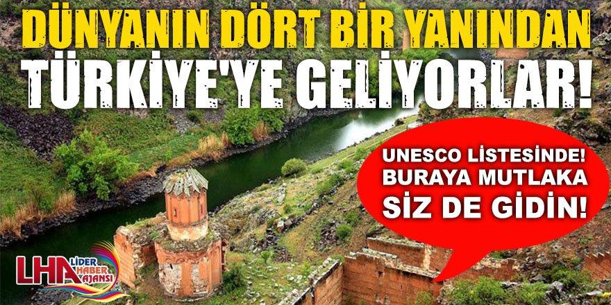 Türkiye'de UNESCO Dünya Kültür Mirası listesi'nde yer alan yerler