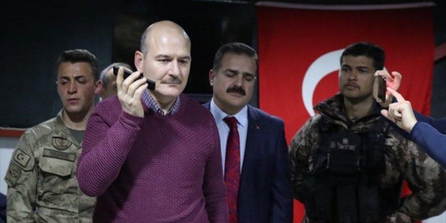 İçişleri Bakanı Soylu, telefonla ile ilgili görsel sonucu