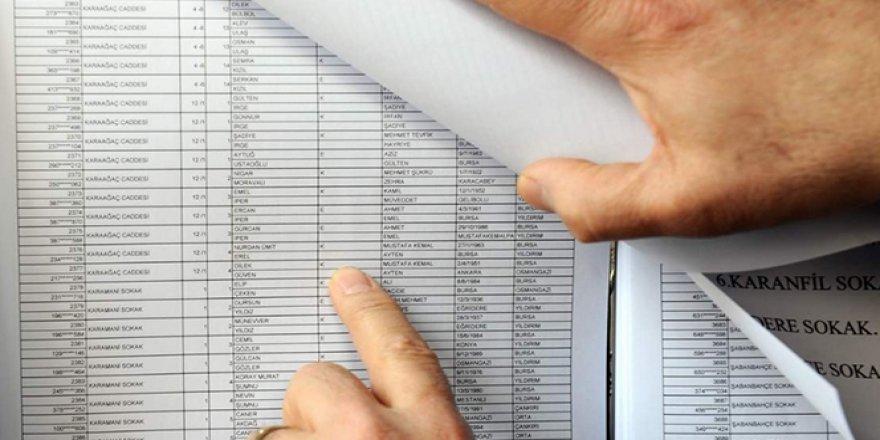 Seçmen listeleri cuma günü askıya çıkıyor