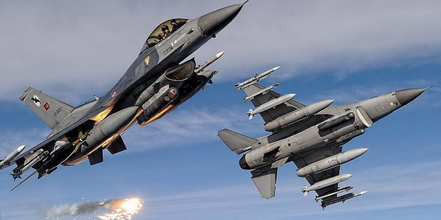 Irak'ın kuzeyine düzenlenen hava harekatında 7 terörist etkisiz hale getirildi