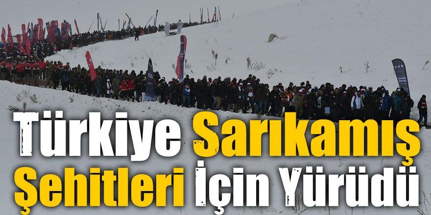Türkiye Sarıkamış Şehitleri İçin Yürüdü