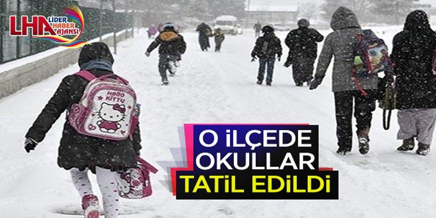 Kars'ın O İlçesinde Okullar Tatil Edildi