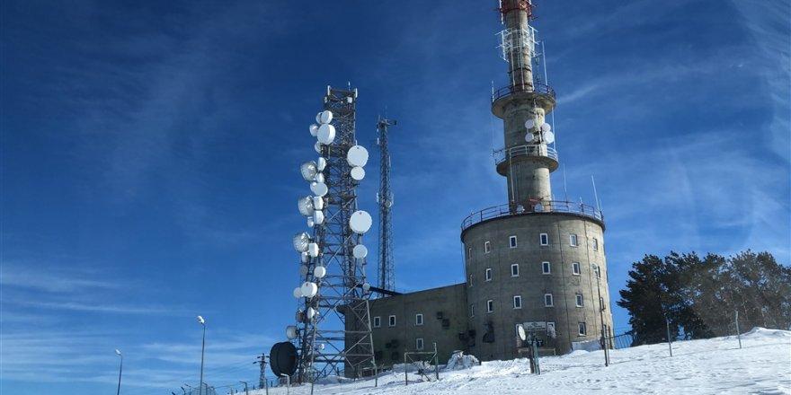 TRT Kars Verici İstasyonunda Nöbet Değişimi