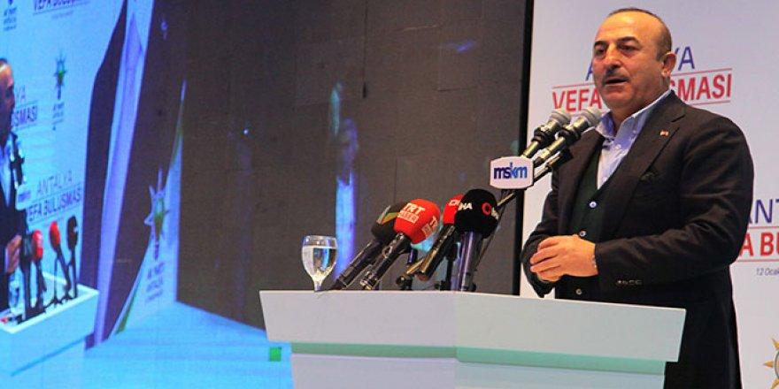 Dışişleri Bakanı Çavuşoğlu: 'Biz kimseden icazet almıyoruz'