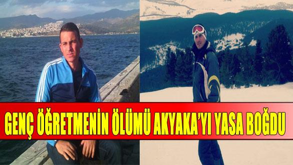 Genç Öğretmenin Ölümü Akyaka'yı Yasa Boğdu