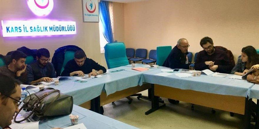Kars'ta Kronik Hastalıkları Eğitimi Verildi